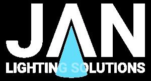 Jan Lighting Solutions White Logo