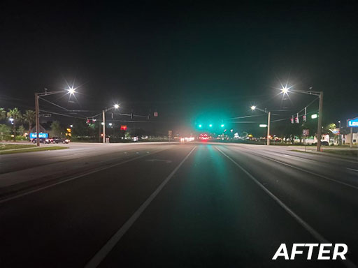 Roadway Lighting - After | Jan Lighting Solutions